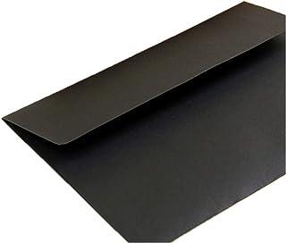 20 pcs/lot Black White Red Kraft Paper Envelopes Vintage European Style Envelope For Business Card Invitation (Color : 20p...