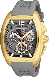INVICTA S1 Rally Men 42mm Stainless Steel Gold Gre - 26886