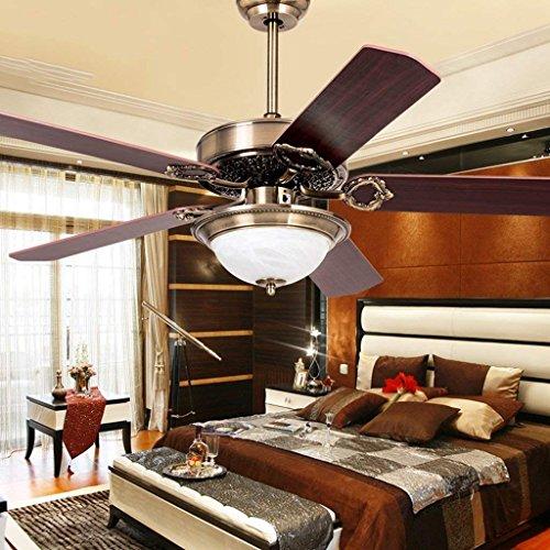 XIN kroonluchter plafondventilator verlichting woonkamer antieke ventilator lichten eenvoudige moderne LED kroonluchter restaurant fan lichten