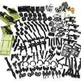 Military Weapons Accessories Army Series Swat Police Weapons Building Blocks for City Police, Best Kid's Gift Toys Compatible for Major Brand