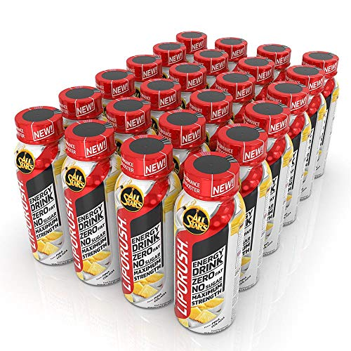All Stars Liporush Energy-Drink, Pina-Colada, 24er Pack (24 x 250ml)