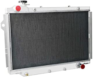 OzCoolingParts 93-97 Toyota & Lexus Radiator, 4 Row Core Aluminum Radiator for 1993 1994 1995 1996 1997 Toyota Land Cruise...