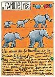 Poster für Kinderzimmer Babyzimmer mit Kinderlied