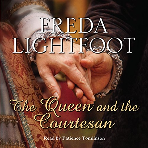 The Queen and the Courtesan audiobook cover art
