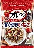 カルビー フルグラざく切りいちご 200g 1セット(10袋)