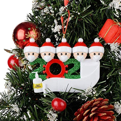 Personalized Survived Family of Ornament 2020 Christmas Holiday Decorations