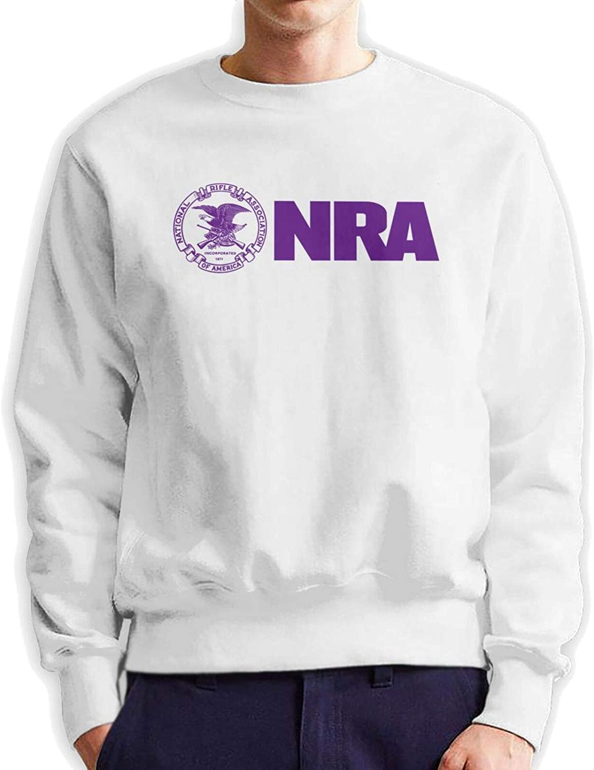 Nra Instructor excellence shipfree Man'S Crew Neck Sw Hooded Hoodie Authentic Cotton