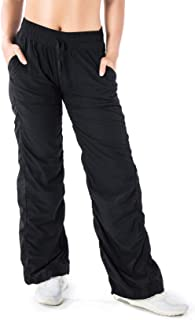 Yogipace Women's Lightweight Quick Dry Casual Active Pants Every Day Pants Travel Commute Yoga Dance Studio