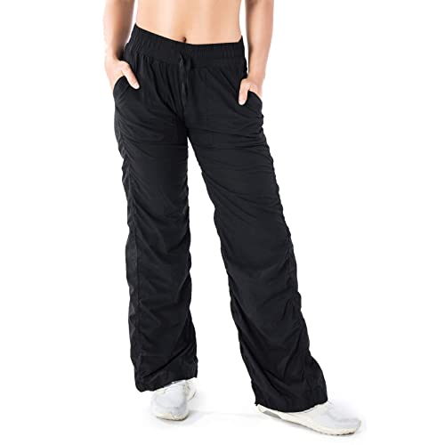Yogipace Women s Petite Regular Lightweight Quick Dry Casual Active Pants  Every Day Travel Yoga Dance f5337d014