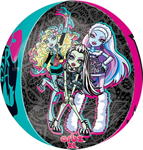 amscan 15Zoll/38cm Monster High Orbz Folie Ballons
