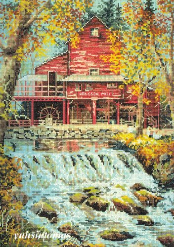 Elsa Williams Counted Cross Stitch Kit - HODGSON MILL