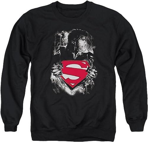Superhomme Le chandail le plus sombre des hommes