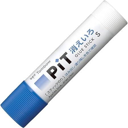 トンボ鉛筆 スティックのり 消えいろピットSパック PKPT-TC