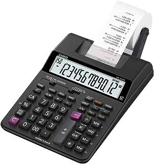 Calculadora Financeira com Bobina Casio HR-100RC 12 Dígitos - Preto