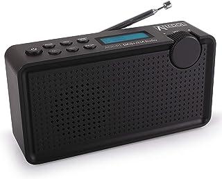 Anadol ADX-P1 DAB/DAB+/FM-radio - 20 zenderopslagplaatsen, draagbaar, LCD-display met twee regels, slaaptimer, batterij & ...
