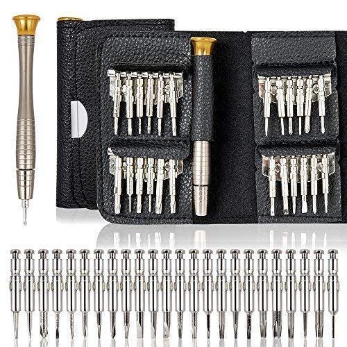 Amazon.com - 25 in 1 Screwdriver Set Precision Screwdriver Wallet Kit Repair Tools