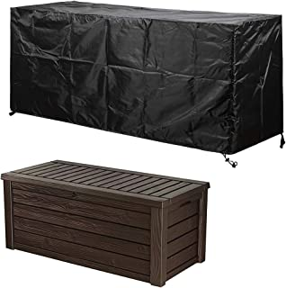 Deck Box Covers Waterproof Durable to Protect Large Deck Boxes 62