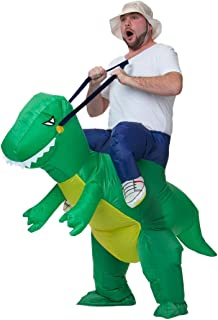 Inflatable T-REX Costume Inflatable Costumes Blow Up Costume Ride on Dinosaur