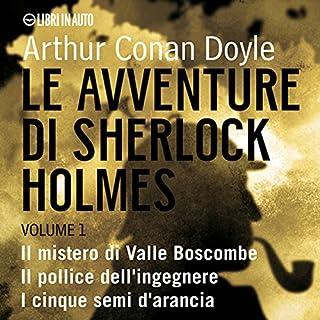 Le Avventure di Sherlock Holmes - Volume 1 copertina