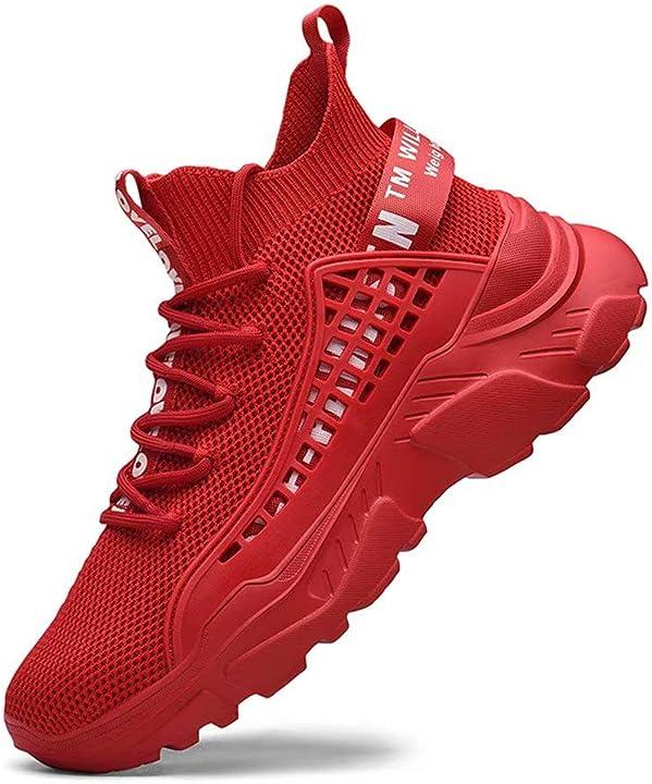 Scarpe alte sportive sneakers fushiton B0838VQ1KZ