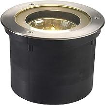 SLV Vloerinbouwlamp ADJUST 190 / spot voor terras, outdoor spot, inbouwlamp tuin, vloerlamp voor buiten / G53 IP67 50,0 W