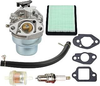 Mckin 16100-Z0L-023 Carburetor + Repair Rebuild Gasket + Air Fuel Filter for Honda GCV160 Engine HRB216 HRR216 HRS216 HRT216 HRZ216 Lawn Mower