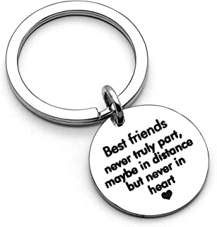 Best Friend Keychain Gifts for Women Girls Birthday Gifts Thanksgiving Day Gifts