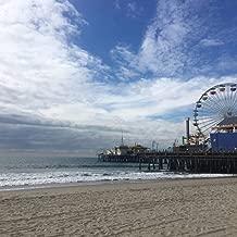 Relaxing Ocean Sounds from Santa Monica Beach California