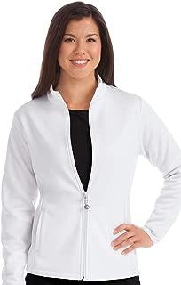 Med Couture Women's Bonded Fleece Med Tech Warm up Jacket