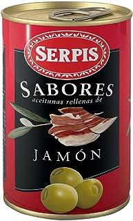 Serpis - Oliven mit Schinken 'Sabores Jamón Serrano' - 300 GR