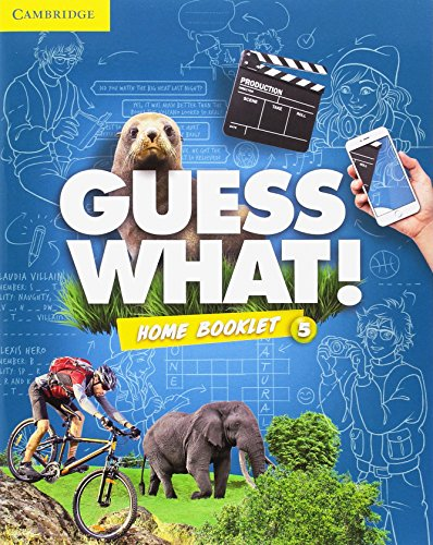 Guess What Special Edition for Spain Level 5 Activity Book with Guess What You Can Do at Home & Online Interactive Activities