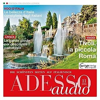 ADESSO audio - Descrivere il paesaggio. 11/16: Italienisch lernen Audio - Landschaften beschreiben Titelbild