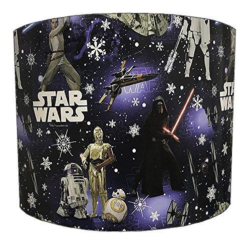 DELPH DESIGN LIGHTING LTD Pantalla de lámpara para niños de Star Wars de 30,5 cm para una luz de techo.