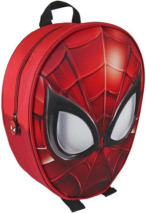 Zaino bambino spiderman 2100-1970 zaino 3d 31 centimetri bambino poliestere multicolore marvel 2100001970