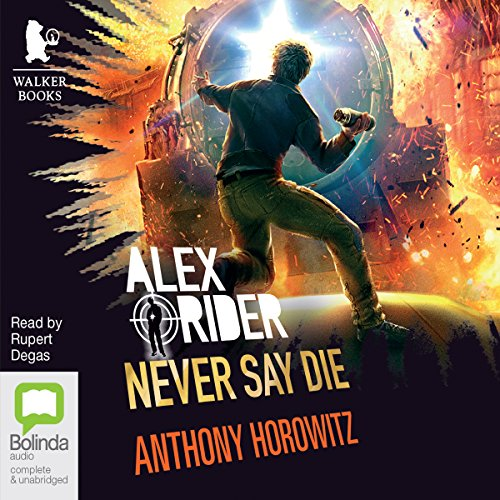 Never Say Die audiobook cover art