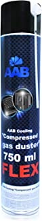 AABCOOLING Compressed Gas Duster FLEX 750ml - Air Comprimé Avec un Tube Flexible, Bombe Air Sec, Air Comprimé Nettoyage PC...