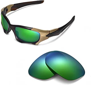 Walleva Replacement Lenses for Oakley Pit BOSS II Sunglasses - Multiple Options Available