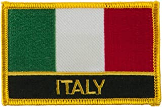 New Europe Flag Embroidered Patch - Italy W01S12E