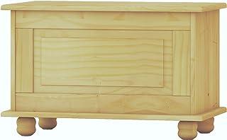 Dogar Baúl Altea Crudo, Pino, Beige, 46x70x39 cm