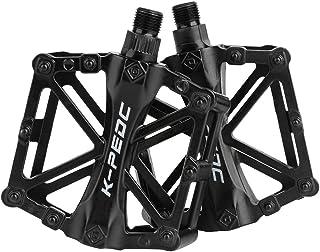 boruizhen Aluminium CNC Bike Platform Pedals Lightweight Road Cycling Bicycle Pedals for MTB BMX