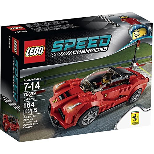 Lego Speed 75899 - Champions La Ferrari