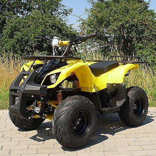 E-QUAD 1000 Watt gelb Offroad ATV Kinderquad Kinder Elektro Quad