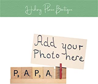 Papa Frame, Papa Photo, Papa Gift, Papa Christmas, Dad Photo, Dad Frame