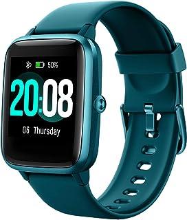 LIFEBEE Smartwatch, Reloj Inteligente Impermeable IP68 para Hombre Mujer niños, Pulsera de Actividad Inteligente con Monit...