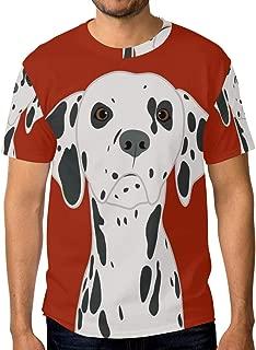 Animal Dalmatian Dog Essentials Men's Short-Sleeve T-Shirt Quick-Dry