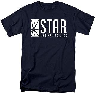 Flash Star Labs Superhero S.T.A.R. Laboratories T Shirt & Stickers