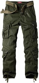 Men's Multi Pocket Loose Casual Work Pants Cargo Pants