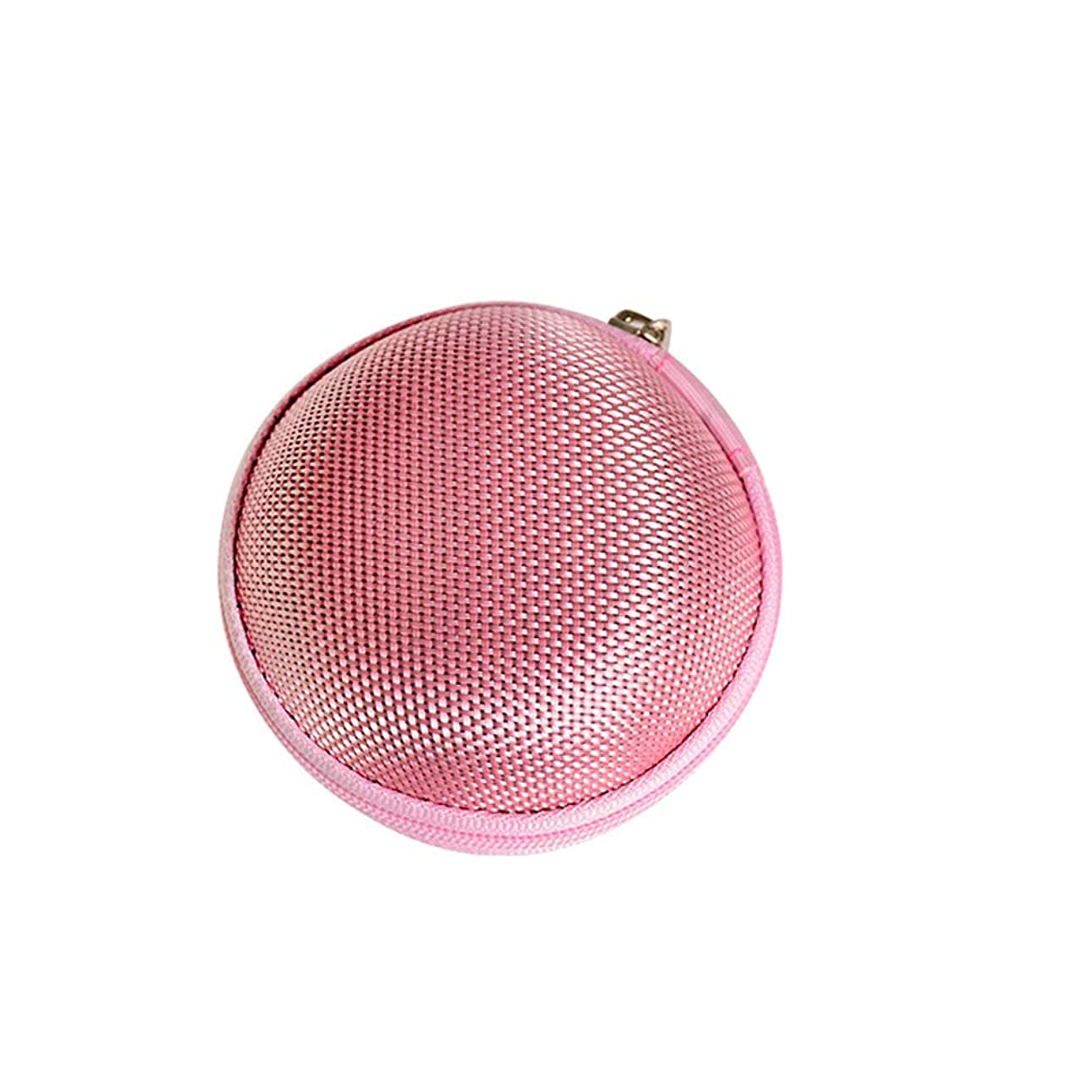 枠引き算忠実にChinashow エッセンシャル オイル キャリング ケース - エッセンシャル オイル スモール ストレージ オーガナイザー フォーム インサート と 7本 ボトル付き(2ml)ピンク