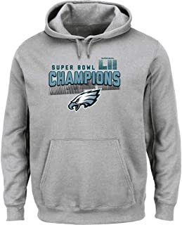 New Officially Licensed Philadelphia Eagles Super Bowl LII Champions Hoodie Sweatshirt Size Youth M Medium