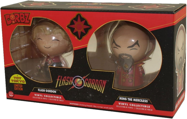 Funko  Figurine Flash Gordon  Flash Gordon & Ming Exclu Dorbz 8cm  0849803095444